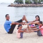 Family Yoga (Sentosa, Singapore)